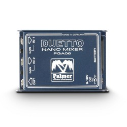 PDUETTO - Nano Mixer for Guitars and Line Signals