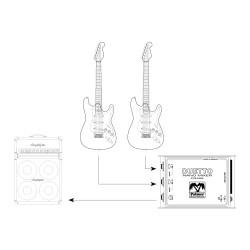Nano Mixer for Guitars and Line Signals