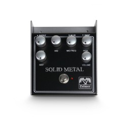 Solid Metal Distortion Pedal