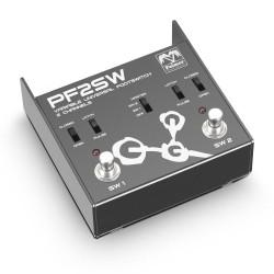 PF2SW - Universal 2-Kanal Fußumschalter