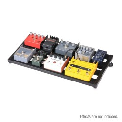 Lightweight variable Pedalboard with Protective Softcase 60cm