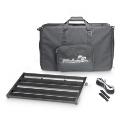 PPEDALBAY60L - Lightweight variable Pedalboard with Protective Softcase 60cm