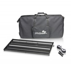 Lightweight variable Pedalboard with Protective Softcase 80cm