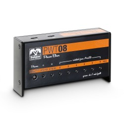 Universal 9V Pedalboard Power Supply 8 Outputs