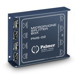 PMS 02 - Dual Channel Microphone Splitter